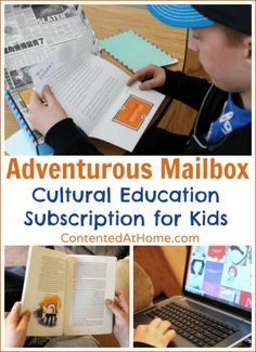 Adventurous Mailbox: Cultural Education Subscription for Kids