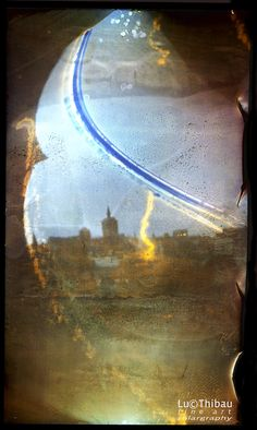 """This photographic technique, which results by influences of nature, in the most fascinating images,colors,combination of path of the sun and landscapes, was invented by Slawonir Decyk, Pawel Kula and Diego Lopez Calvin in 1999. The reason why they called this ' Solargraphy"""" was because images came into being in camera's without lenses. More how to at www.lucthibau.com"""
