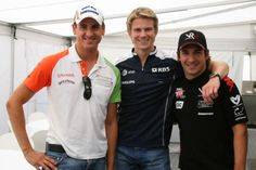 with Sutil and Timo :)