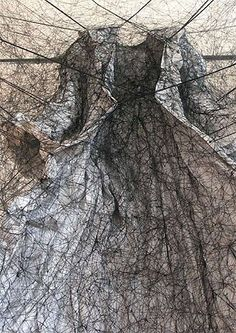 Chiharu Shiota Dress as environmental art