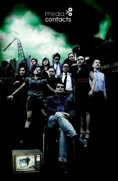 The exceedingly cool team at Havas Media Philippines