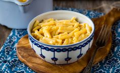 Mac and Cheese      1 lb. of macaroni shaped pasta     1.5 cups whole milk     2 tablespoons all-purpose flour     3/4 teaspoon salt     1/4 teaspoon ground mustard     3 cups shredded cheddar cheese     4 tablespoons unsalted butter (half a stick)