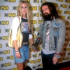 Rob and Sheri Moon Zombie Rob Zombie Art, Rob Zombie Film, Zombie Girl, Zombie Halloween Costumes, Halloween Movies, Sherri Moon Zombie, Horror Movie Characters, Horror Movies, Zombie Style