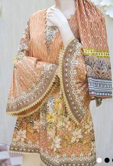 fashionable put on 😍 2020 Stylish Dress Designs, Stylish Dresses For Girls, Dresses Kids Girl, Stylish Dress Book, Stylish Girl, Neckline Designs, Dress Neck Designs, Sleeve Designs, Simple Pakistani Dresses