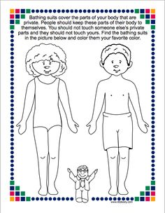 Kids Safety kindergarten lesson about sexual abuse - Many people have asked if I would share the sexual abuse lessons that I teach in grades and I am most happy to oblige. Deciding how best to teach about sexual abuse prevention can be a dauntin… Elementary School Counseling, School Social Work, School Counselor, Counseling Activities, Therapy Activities, Play Therapy, Family Therapy, Children Activities, Therapy Tools