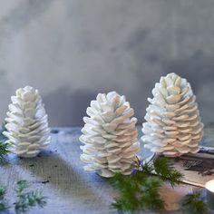 Fraser Ceramic Pinecones, Set Of Two