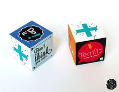 Le Cube Positif (free printable) - Sanglota.com