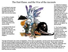 Dark Souls Lore - The First Flame, and the War of the Ancients