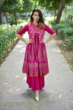 By far the most Indian ensemble around, the Anarkali is the most loved Indian outfit by women. We are sharing with you some very pretty Anarkali outfits that we saw last year. Preeti Pooja Preeti Pooja is the official writer at LookVine. Kurta Designs, Kurti Designs Party Wear, Pakistani Dresses, Indian Dresses, Indian Outfits, Pakistani Couture, Indian Attire, Indian Ethnic Wear, Indian Designer Suits