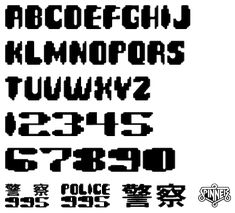 The Blade Runner Font Homepage