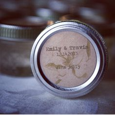 what a nice idea for wedding favours by @Gwen Axtell for @Renee Pearson 's wedding.