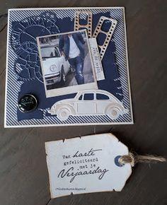 Drive my car 3d Cards, Marianne Design, Scrapbook Designs, Masculine Cards, Paper Background, Fiat, Inspiration, Pictures, Man Card