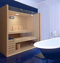 On the Wish List: A Sauna at Home   Apartment Therapy