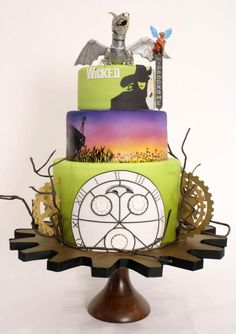 Wicked Cake! By Charm City Cakes. http://www.facebook.com/charmcitycakes