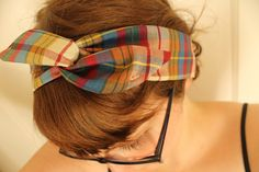 Use this tutorial to learn how to make cute wire headbands. The wire helps them to actually stay on your head!