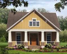 Tidy Craftsman Home Plan - 51042MM | Architectural Designs - House Plans