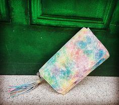 'Rhea' Our rainbow clutch Rainbow, Bag, Collection, Purse, Rainbows, Rain Bow, Pocket