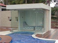 das Saunas, Jacuzzi, Outdoor Sauna, Outdoor Decor, Float Room, Sauna Wellness, Small Pool Design, Welcome To My House, Outdoor Living Rooms