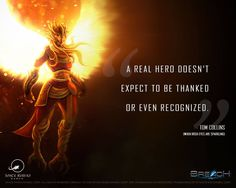 """""""A real hero doesn't expect to be thanked or even recognized"""" - Tom Collins  Visit www.breachtd.com to download Breach TD for iOS or Android Beta.   #WednesdayWisdom #gamedev #mobilegames"""