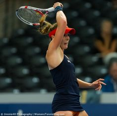 Alize Cornet in action at the 2014 Luxembourg Open, more pics: http://www.womenstennisblog.com/2014/10/15/tough-day-top-seeds-luxembourg-highlights/