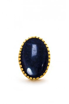This 24kt Gold plated designed ring with a gorgeous Dark Agate base will elegantly compliment your neatly manicured nails by adding the simple yet striking colour of it's natural stone.  *please note that rings are slightly flexible and can be adjusted to desired size
