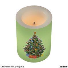Christmas Tree Flameless Candle