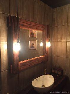 """Купить Зеркало в раме """"Джиба"""". Стиль: лофт. Винтажно и элегантно. 900*1100мм. Покупайте со скидкой -7% только до 01-11-17!"""