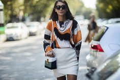 Milan Fashion Week Street Style Spring 2018 Day 3 Cont.