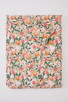 Постельное белье с рисунком - Приглушенный розовый/Рисунок - HOME | H&M RU 1