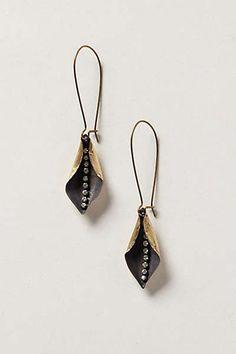 Anthropologie - Petal Plunge Earrings