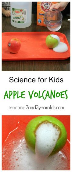 science volcanoes for kids - easy and fun! Preschool Activities, Fall Preschool Science, Science For Kindergarten, Science Fun, 3 Year Old Preschool, Preschool Classroom, 3 Year Old Activities, Teaching Science, Activities For 2 Year Olds Daycare