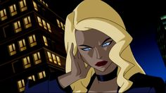 Dinah Lance-Black Canary - Geek World Black Canary Comic, Justice League Animated, Dinah Laurel Lance, Sanji One Piece, Justice Society Of America, Lance Black, Comics Love, Comic Book Superheroes, Black And White