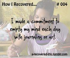 Journaling and art