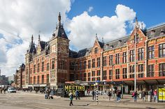 Central Station Amsterdam Nederland by vincent_ying. @go4fotos
