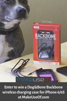 Enter to win a Dog&Bone Backbone wireless charging case for iPhone 6/6S!
