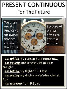 AskPaulEnglish: PRESENT CONTINUOUS ... For Future Arrangements
