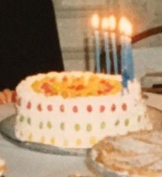 Synttärikakku 1995
