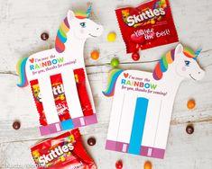Rainbow Unicorn Birthday Party Favor Holds Fun by KudzuMonster
