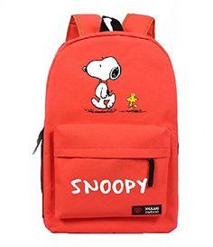 Creative Anime Snoopy Unisex Cavans Student's School Bag Backpacks Leisure Bag Shoulder Backpack (red) shoulder bag http://www.amazon.com/dp/B00OPU24M8/ref=cm_sw_r_pi_dp_lKXxvb0RNMDX5