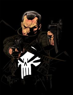 P is for Punisher by Kris Anka *