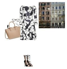 """""""Dream of Spring"""" by octa ❤ liked on Polyvore featuring Valentino, Gianvito Rossi, Erdem, Victoria Beckham, Chanel and Maison Margiela"""