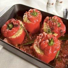 Stuffed pepper #Tastebudladies #Peppers