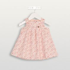 Robe chasuble rose tendre Geolympe - Les robes et jupes - Fille - Layette (3-24 mois) | Sergent Major