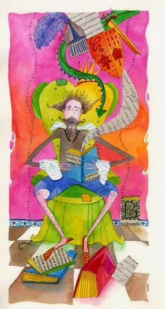 El Quijote en obra teatral - escrito por Beatriz Caballero - Edit. Panamericana de Colombia, 2005