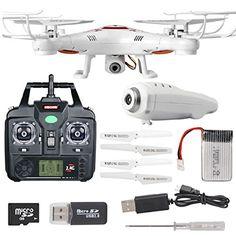 Drone Syma X5c-1 | Camara Hd | Fotos Y Videos | Quadricopter SYMA http://www.amazon.com.mx/dp/B010UOZYU6/ref=cm_sw_r_pi_dp_WTN7vb1NTD4G2