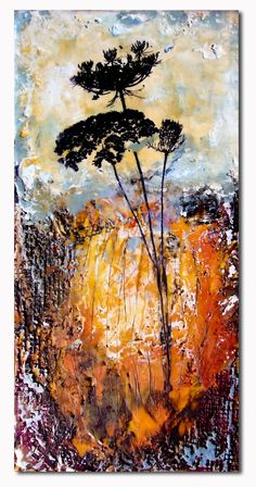all pulped out: encaustic