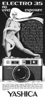 The Image Of Women In Ads For Photographic Gear
