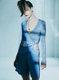 Meghan Collison for Harper's Bazaar Korea April 2014 Photographed by James Macari