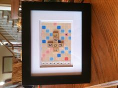Make a quick and easy gift for the Scrabble lover in your life.