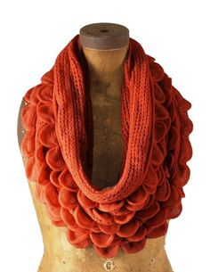 Love this color! Wrap Up In Style | Infinity Scarves | BeBetsy